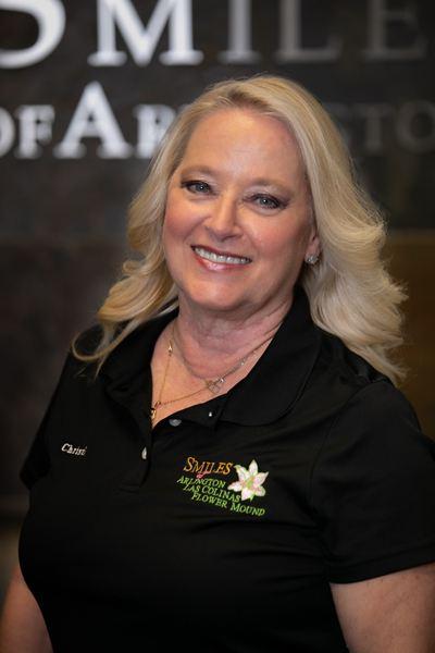 Blonde Female Employee at Smiles Family Dental in Arlington, TX